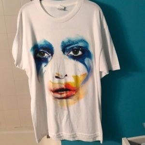 Lady Gaga Artpop concert tee